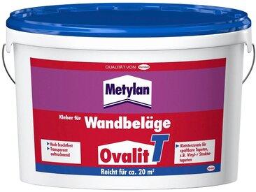 Metylan METYLAN Tapetenkleber »Ovalit T«, für Wandbeläge; 1 oder 2 Eimer à 5 kg, 2