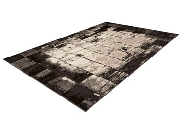 calo-deluxe Teppich »Lissy 425«, rechteckig, Höhe 10 mm, Kurzflor, natur, braun-creme