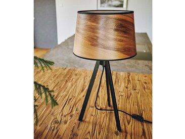 LeuchtNatur Tischleuchte »Attica 60cm Satin Nussbaum«