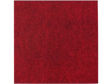 Andiamo ANDIAMO Teppichfliese »Skandi Nadelfilz«, 100 Stück (16 m²), selbstklebend, rot, rot