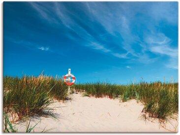 Artland Wandbild »Dünen am Meer«, Strand (1 Stück), Leinwandbild