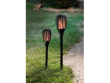 HomeLiving Gartenstecker »Bewegte Flamme«