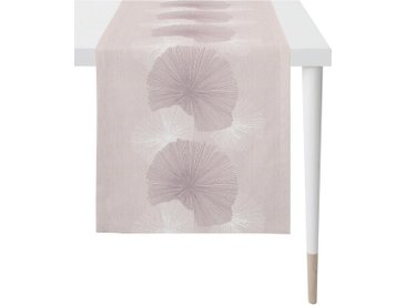 APELT Tischläufer »7200 LOFT STYLE« (1-tlg), Jacquardgewebe, rosa, altrosa-flieder-weiß