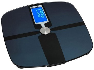 TFA Dostmann Digitale Körper-Analysewaage aus Glas »SAMBA«, blau, blau