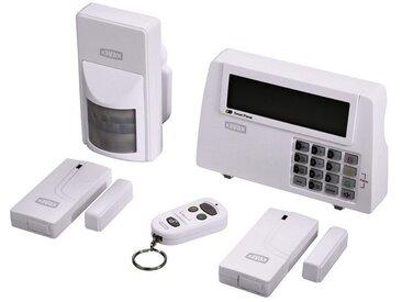 Xavax Funk Alarmanlage FeelSafe Starter-Set Haus Alarmsystem »Einbruchschutz mit Alarm«, weiß, Weiss