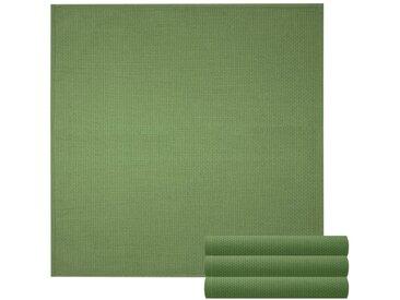 Lashuma Handtuch Set »Pure« (Set, 4-tlg), Geschirrtuch 4er Set, Küchentücher Waffelpique 50 x 50 cm, grün, moos