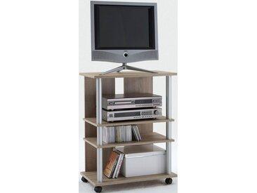 FMD TV-Board »Variant 7«, Breite 65 cm, braun, eichefarben