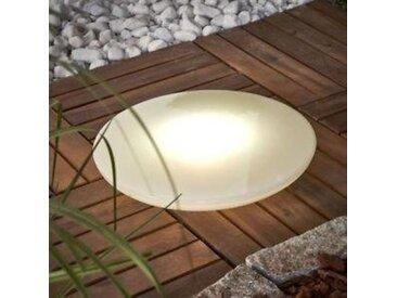 BONETTI LED Gartenleuchte »BOWL«, 3er Set mit Dämmerungsschalter