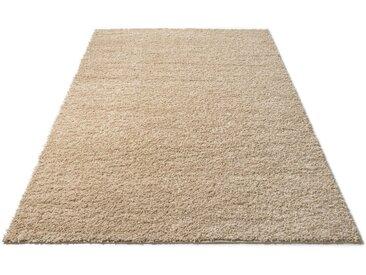 Home affaire Hochflor-Teppich »Shaggy 30«, rechteckig, Höhe 30 mm, grau, grau-cream