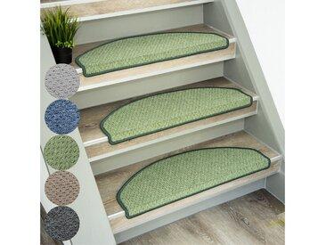 casa pura Stufenmatte »Baleno«, Halbrund, Höhe 5 mm, grün, Grün