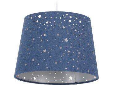 relaxdays Hängeleuchte »Kinderzimmerlampe Sterne«, blau, Blau