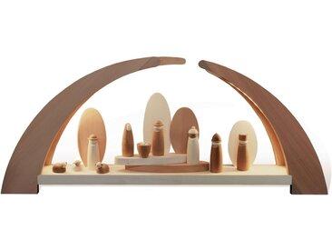 rauta Lichterbogen »mit Krippenfiguren« (1-tlg), Modernes Design
