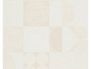 living walls Vliestapete »Titanium«, grafisch, geometrisch, natur, natur-beige-braun