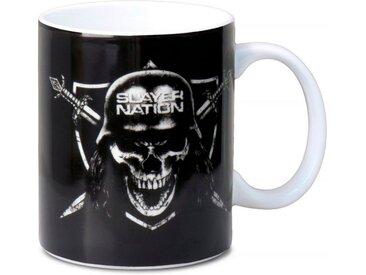 LOGOSHIRT Tasse mit tollem Fan-Print »Slayer - Nation Tasse«, bunt, farbig