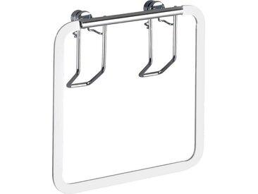 WENKO Handtuchring »Premium«, silberfarben, silber glänzend