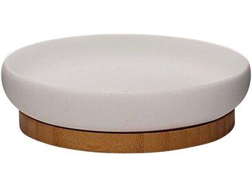 RIDDER Seifenschale »Fancy«, rund, weiß, weiß