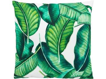 Andiamo Dekokissen »Nairobi«, eckig, 40x40 cm, inkl. Kissenfüllung, In- und Outdoor geeignet, grün, Blätter, grün