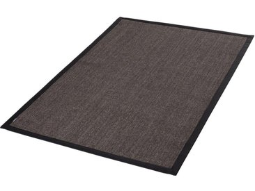 Dekowe Sisalteppich »Mara S2 mit Bordüre«, rechteckig, Höhe 5 mm, Flachgewebe, Obermaterial: 100% Sisal, Wohnzimmer, schwarz, schwarz-meliert