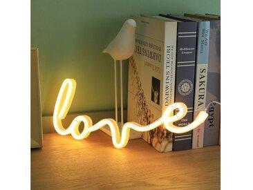 TOPMELON LED Nachtlicht »LED Neonlicht«, gelb, Love2-Warmweiß