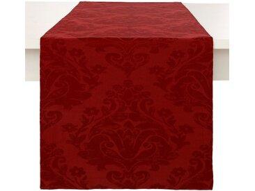 Dreams Tischläufer »Ornament«, Jacquard, rot, rot