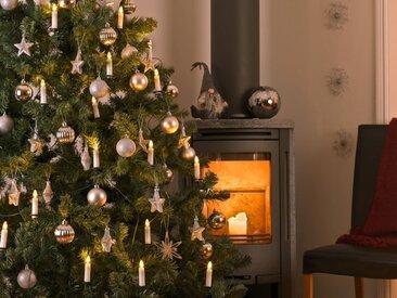 KONSTSMIDE LED Baumkette, Topbirnen, One String, weiß, Lichtquelle warm-weiß, 25 LEDs, Weiß