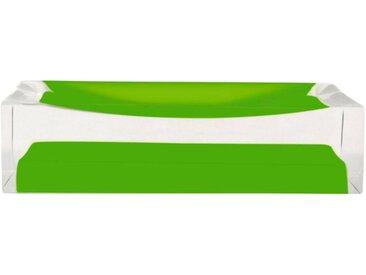 Seifenschale »Colours«, Breite: 7 cm, rechteckig, grün, grün