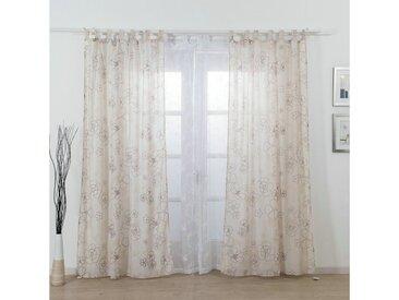 i@home Gardine »Schlinge Vorhang«, Schlaufen (1 Stück), natur, Jacquard, Beige