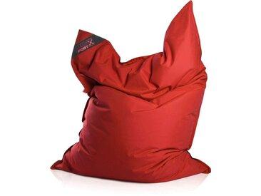 Magma Heimtex Sitzsack »Big Foot«, Indoor / Outdoor geeignet, rot, rot