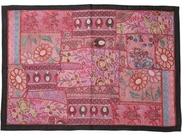 Guru-Shop Wandteppich »Indischer Wandteppich Patchwork..«, Höhe 65 mm, Muster 22