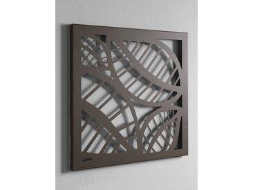 heine home Wandgarderobe und Memoboard, braun, ca. 40/40/2 cm, ca. 42/42/2 cm, braun