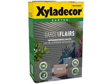 Xyladecor Ölfarbe »Garden Flairs«, für Gartengestaltung, sandgrau, 0,75 l