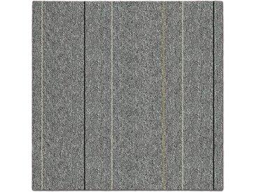 casa pura Teppichfliese »Baden«, Quadratisch, Höhe 4.5 mm, Selbstliegend, grau, Grau B1