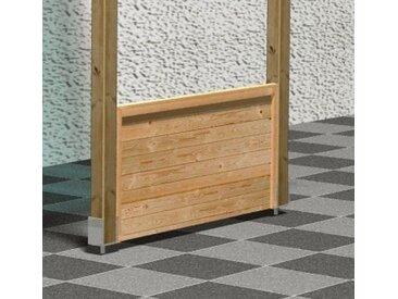 Karibu Brüstungsgeländer »Eco«, 180 cm Länge, 80 cm Höhe, für Terrassenüberdachung