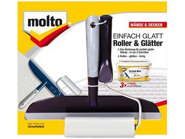 Molto MOLTO Werkzeugset »Rolle und Wischer«, 2-teilig, blau, blau