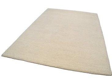 THEKO Wollteppich »Amravati«, rechteckig, Höhe 28 mm, echter Berber, handgeknüpft, natur, natur-grau