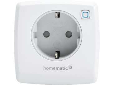 Homematic IP Smart Home »Dimmer-Steckdose – Phasenabschnitt (150327A0)«, weiß, Weiß