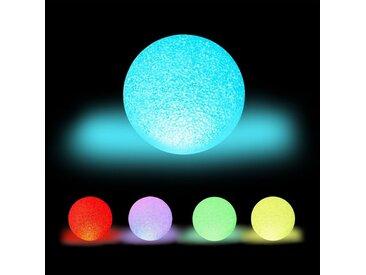 relaxdays LED Kugelleuchte »LED Kugelleuchte mit Farbwechsel«