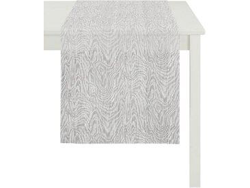 APELT Tischläufer »Hydro, Loft Style, Jacquard« (1-tlg), grau, grau