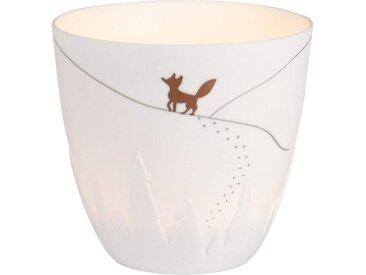 """Räder Design Teelichthalter »Poesielicht """"Fuchs""""«, Für Stimmungsvoll warmes Licht"""