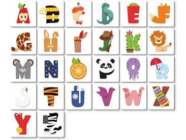 Wall-Art Deko-Buchstaben »Lernbuchstaben Kinderzimmer 15cm« (1 Stück), B
