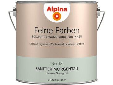 Alpina ALPINA Farbe » Feine Farben Sanfter Morgentau«, 2,5 l, grün, Blasses Graugrün