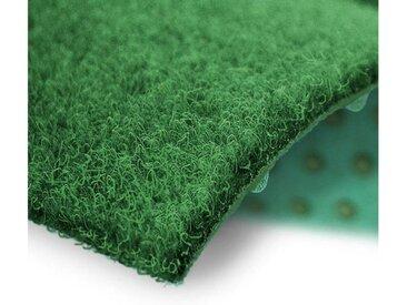 Kubus Rasenteppich »Brilliant«, rechteckig, Höhe 4 mm, für Balkone, Terrassen & Wartebereiche, grün, Grün
