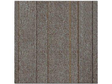casa pura Teppichfliese »Baden«, Quadratisch, Höhe 4.5 mm, Selbstliegend, natur, Beige B2