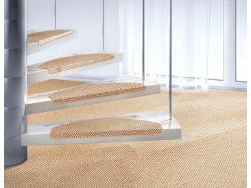 Dekowe Stufenmatte »Brasil«, stufenförmig, Höhe 10 mm, Obermaterial: 100% Sisal, zweifarbig gewebt, natur, creme