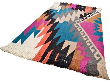 TOM TAILOR Teppich »Funky Kelim«, rechteckig, Höhe 6 mm, Wolle