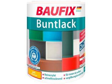 Baufix BAUFIX Acryl Buntlack seidenmatt gelb, 1 l, gelb, 1 l, gelb