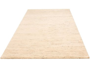 andas Wollteppich »Malia«, rechteckig, Höhe 24 mm, echter Berber, handgeknüpft, grau, grau
