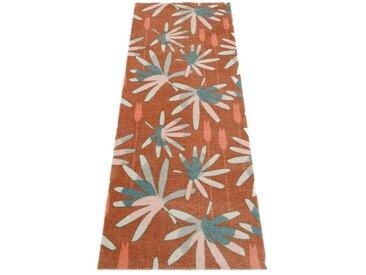 ELLE Decor Läufer »Mellow«, rechteckig, Höhe 7 mm, waschbarer Teppichläufer, rutschhemmend, braun, braun-grün