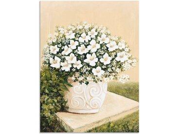 Artland Wandbild »Blumentopf I«, Blumen (1 Stück), Alu-Dibond-Druck
