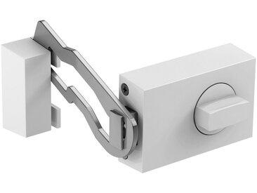 BASI Türzusatzschloss »Dornmaß 45 mm - weiß (eckig), Sperrbügel«, Kastenschloss KS 500, weiß, weiß